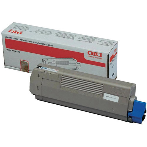 OKI Black Toner Cartridge Yield: 8,000 Pages for A4 Colour Printers