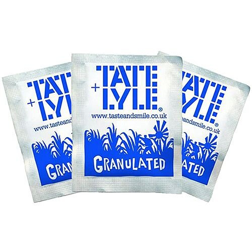 Tate &Lyle White Sugar Sachets Pack 1000