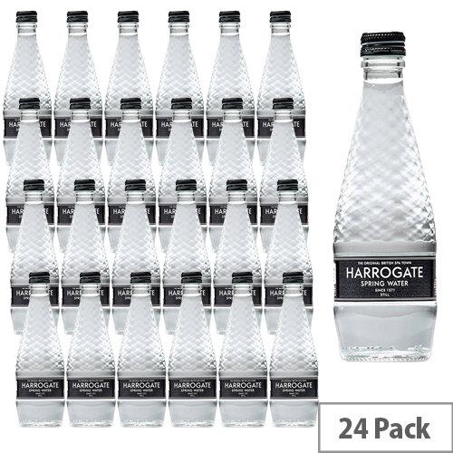 Harrogate Still Water Glass Bottle 330ml Ref G330241S Pack 24