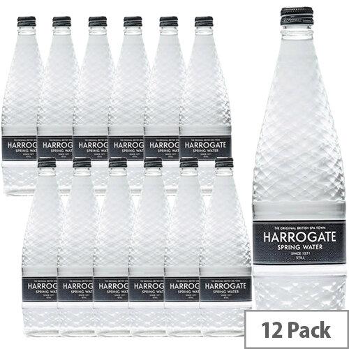 Harrogate Still Water Glass Bottled 750ml Ref G750121S Pack 12