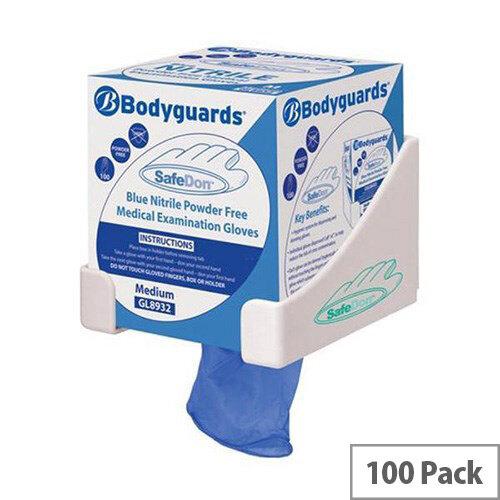 Polyco Medical Gloves Powder-free Seamless Nitrile Smal Blue [Pack 100] Ref GL8931
