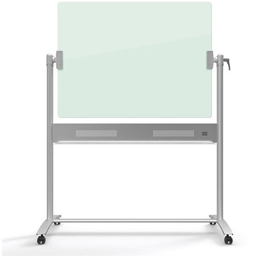 Nobo Diamond 900x1200mm Magnetic Glass Mobile Whiteboard