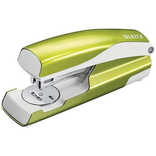 Leitz NeXXt WOW Stapler 3mm 30 Sheet Green Ref 55021064L