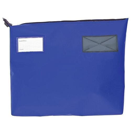 Blue A3+ Gusset Mail Pouch 510mm x 406mm x 76mm