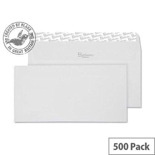 Blake High White DL Premium Business Wove Wallet Envelopes 120gsm Pack of 500