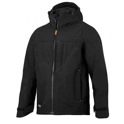VARIOUS SIZES 0400 BLACK SNICKERS 1303 ALLROUNDWORK WATERPROOF SHELL JACKET