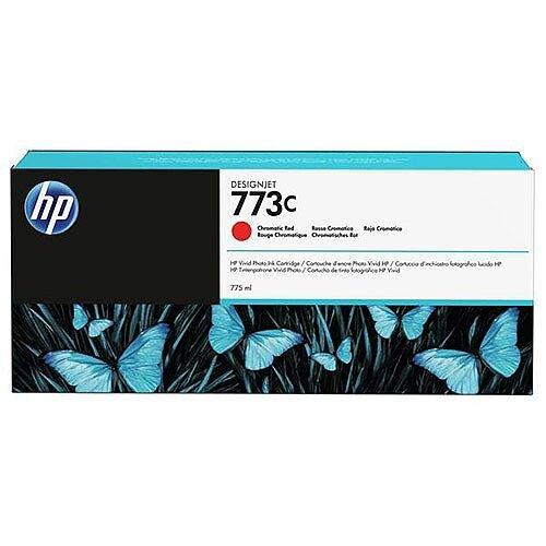HP Designjet 773C (775ml) Chromatic Red Ink Cartridge for Designjet Z6800 1524mm Photo Production Printer C1Q38A