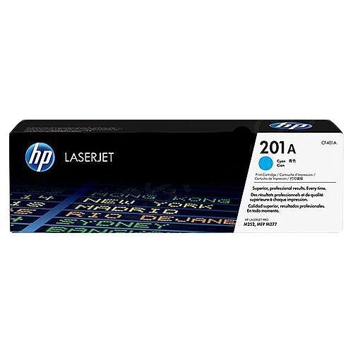 HP 201A Original Cyan LaserJet Toner Cartridge for Color LaserJet Pro M525n/M525dw/M277n/M277dw Printers CF401A