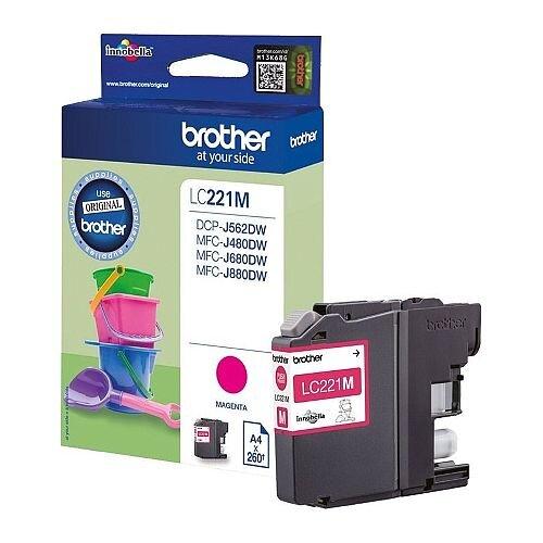 Brother LC221M Magenta Inkjet Cartridge