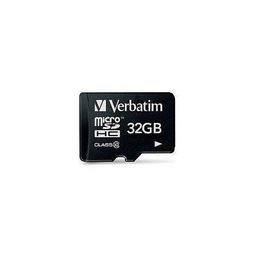 Verbatim 32GB MicroSDHC Memory Card (Class 10)