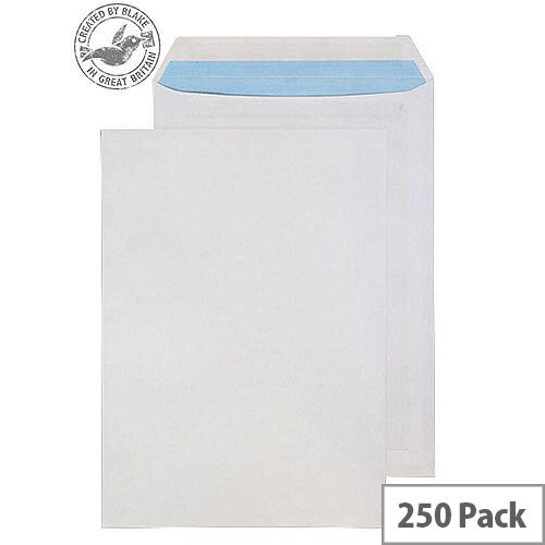 Purely Everyday White Self Seal 90gsm Pocket C4 324x229mm (Pack 250)