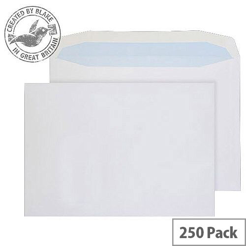 Purely Everyday Mailer Gummed White 100gsm C4 229x324mm (Pack of 250)