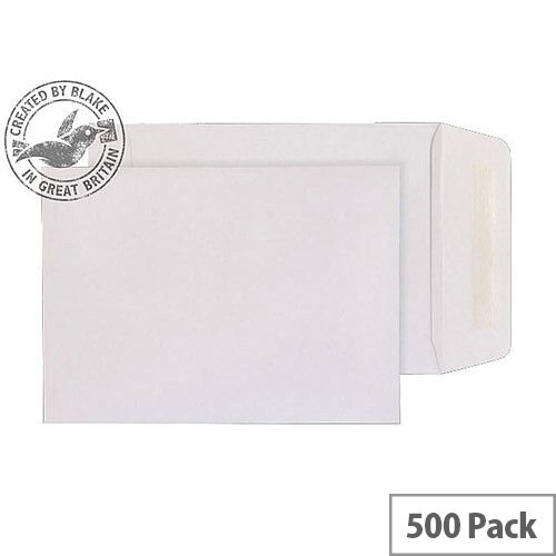 Purely Everyday White 90gsm Gummed Pocket C5 229x162mm (Pack of 500)
