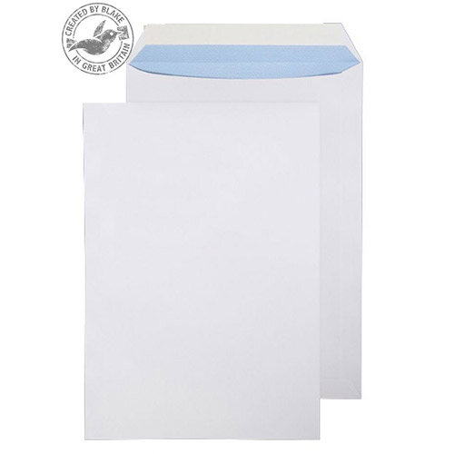 Purely Everyday White 100gsm Peel and Seal Pocket C4 324x229mm (Pack of 250)