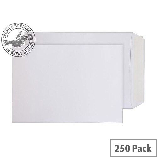 Purely Everyday Pocket P& White 100gsm C4 324x229mm (Pack 250)