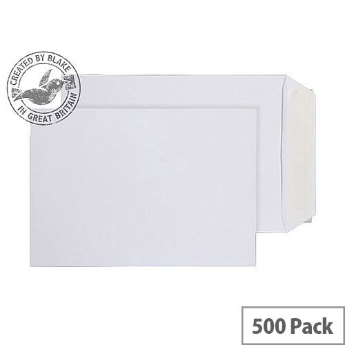 Purely Everyday Pocket P& White 100gsm C5 229x162mm (Pack of 500)