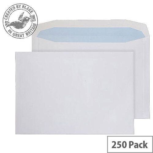 Purely Everyday Mailer Gummed White 120gsm C4 229x324mm (Pack 250)
