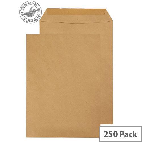 Purely Everyday Manilla Envelopes 90gsm Gummed Pocket 352x229mm Pack of 250