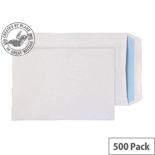 Purely Everyday Pocket Self Seal White 110gsm C5 229x162mm (Pack of 500)