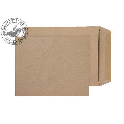 Purely Everyday Manilla Gummed 115gsm Envelopes Pocket 305x250mm Pack of 250
