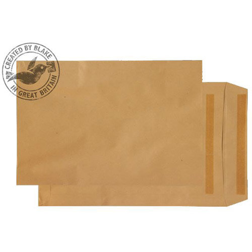 Purely Everyday Manilla 115gsm Envelopes Self Seal Pocket 381x254mm Pack of 250