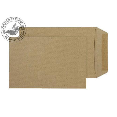 Purely Everyday Pocket Envelopes Gummed Manilla 115gsm 190x127mm Pack of 500