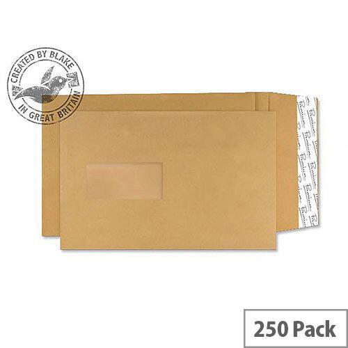 Blake Premium Avant Garde Pocket Window P& Cream Manilla C5 130gsm (Pack of 250)