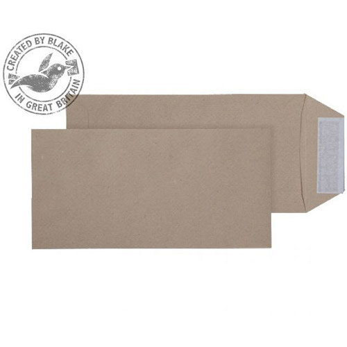 Purely Everyday Pocket Envelopes Peel and Seal Manilla 115gsm 229x102mm Pack of 500