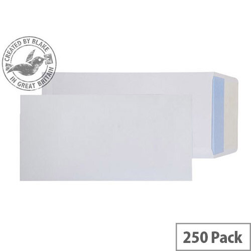 Purely Everyday Pocket Envelopes Peel and Seal White 100gsm C4 305x152mm Pack of 250