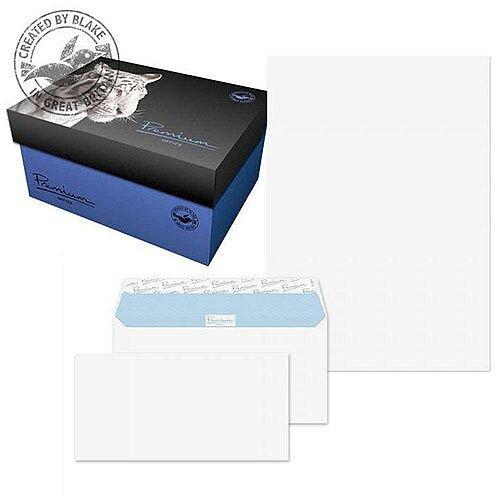 Blake Soho Ultra White Wove A4 Paper &Wallet P& DL Envelopes 120gsm (Pack of 250)