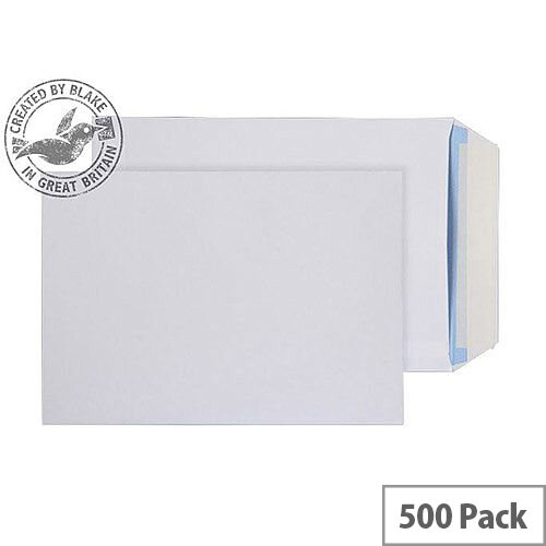 Purely Everyday White 100gsm Peel and Seal Pocket C5 229x162mm (Pack of 500)
