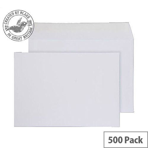 Purely Everyday Wallet P& White 100gsm C5- 155x220mm (Pack of 500)