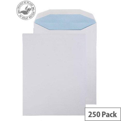 Purely Everyday Mailer Envelopes Gummed White 100gsm 310x238mm Pack 250