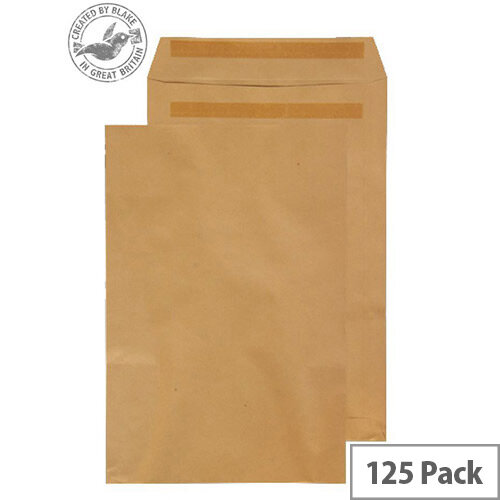 Purely Everyday Manilla Self Seal Pocket C3 450x324mm (Pack of 125)