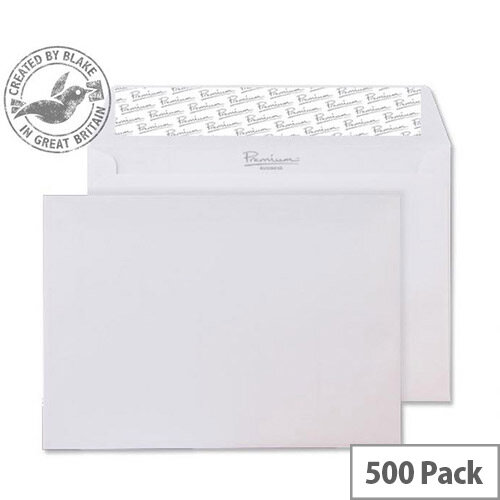 Blake Premium Ice White Business Wallet C6(Pack of 500)