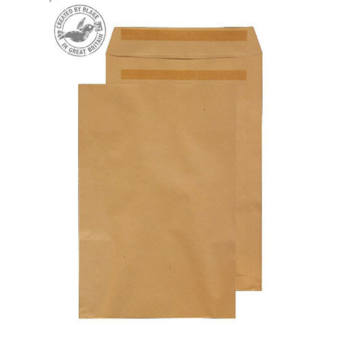 Purely Everyday Manilla 115gsm Envelopes Self Seal Pocket 406x305mm Pack of 250