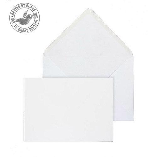 Purely Everyday Banker Invitation Gummed Envelopes White Wove 120gsm 133x185mm Pack of 500