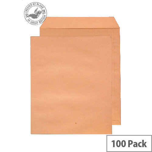 Purely Everyday Pocket UnGummed Manilla 180gsm C3 444x368mm (Pack of 100)
