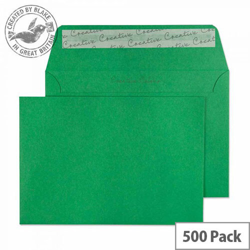 Creative Colour Avocado Green C6 Wallet Envelopes (Pack of 500)