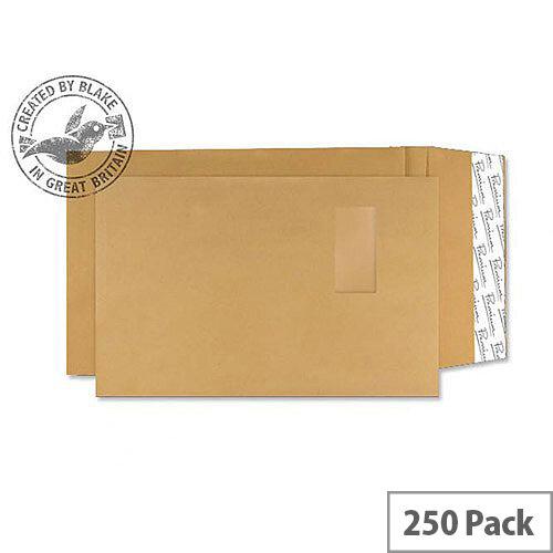 Blake Premium Avant Garde Pocket Window P& Cream Manilla C4 130gsm (Pack of 250)