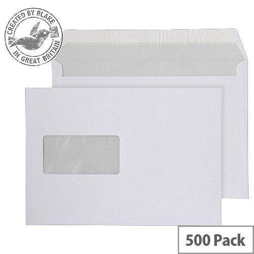 Purely Everyday Wallet P& Window Bright White 120gsm C5 162x229 (Pack of 500)