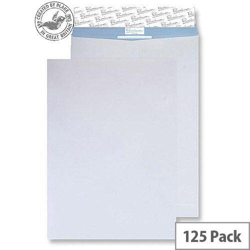 Blake Premium Secure Pocket P& White C5 229x162mm 125gsm Tear Resistant (Pack of 125)