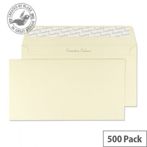 Creative Colour DL+ Vanilla Ice Cream Wallet Envelopes 120gsm Pack of 500