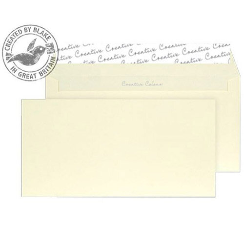 Creative Colour Lemon Yellow DL+ Wallet Envelopes (Pack of 500)