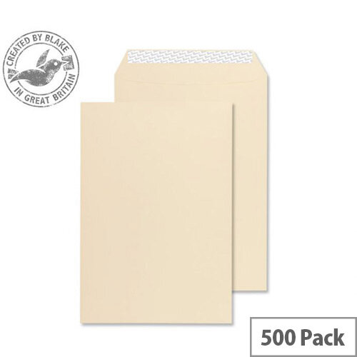 Blake Premium Business Cream Wove Gusset C5 Envelopes (Pack of 125)