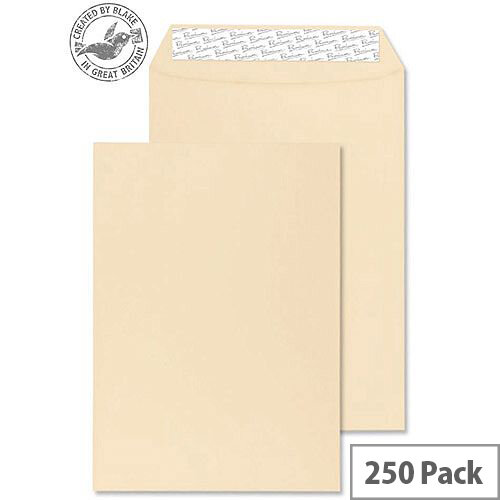 Blake Premium Business Pocket P& Cream Wove C4 324x229mm 120gsm (Pack of 250)