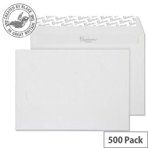 Blake Premium Business Wallet P& High White Wove C5 120gsm (Pack of 500)