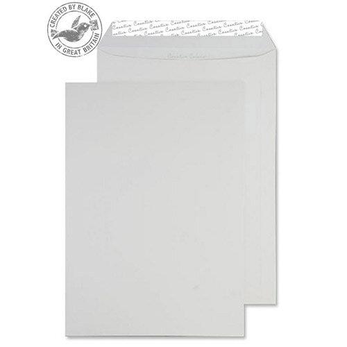 Creative Colour Ice White Pocket C4 Envelopes (Pack of 250)