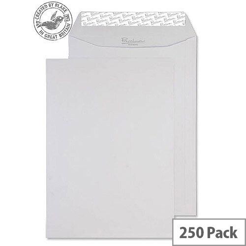 Blake Premium Business Pocket P& Diamond White Laid C4 120gsm (Pack of 250)