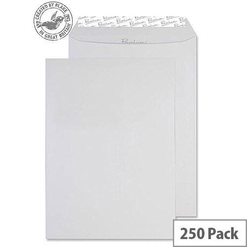Blake Premium Business Pocket P& Diamond White Smooth C4 120gsm (Pack of 250)